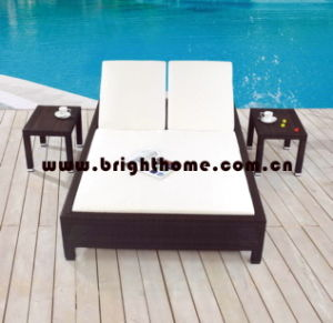 Wicker Outdoor Lounge Set / Beach Chair / Daybed (BG-MT11) pictures & photos