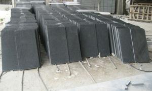 G654 Cobble Stone on Mesh Sesame Black Granite G654 Honed pictures & photos
