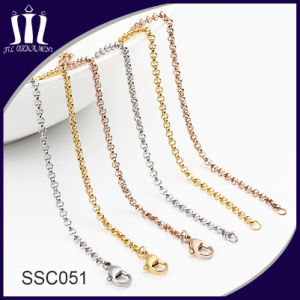 Hot Sale Boy and Girl Colorful 316L Stainless Steel Necklace pictures & photos