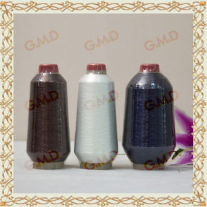 St Type Metallic Yarn for Embroidery Thread