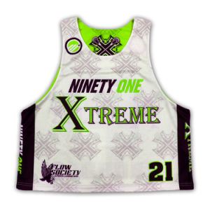 OEM Specialized Sublimated Lacrosse Jersey Supplier pictures & photos