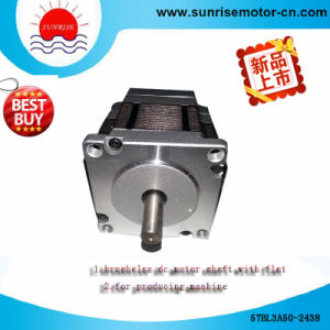 57bl3a50-2438 Shaft with Flat DC Motor/Electric Motor pictures & photos