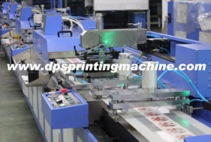 5 Colors Label Ribbons Screen Printing Machine with Large Production Capacity pictures & photos