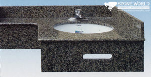Granite Marble Prefabricated Countertops Vanity Tops for Kitchen, Bathroom (VV03) pictures & photos