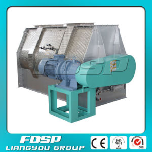 Single-Shaft Paddle Feed Mixing Machine for Animal Feed pictures & photos