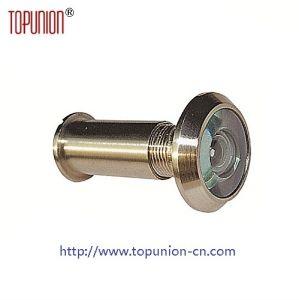 200 Degree Glass Lens Brass Door Viewer (DV003) pictures & photos