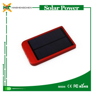 2600mAh Solar Power Bank Charger pictures & photos