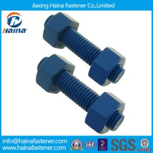 Factory High Quality 12.9 PTFE B7 Thread Rod with Nuts pictures & photos