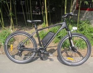 CE Certificate Mountain Electric Bike with 26′ Tire pictures & photos