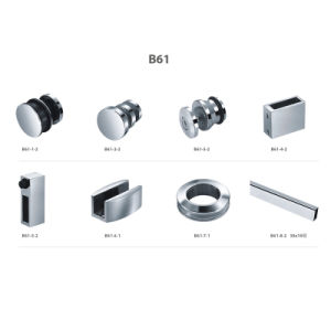 Shower Door Hardware Stainless Steel Glass Clamp (B61) pictures & photos