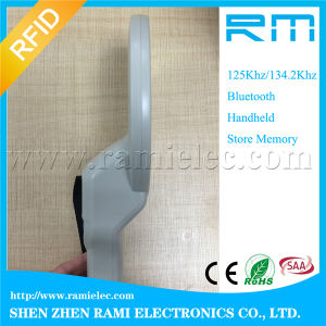 ISO 11784/785 134.2kHz Handheld Animal RFID Scanner pictures & photos
