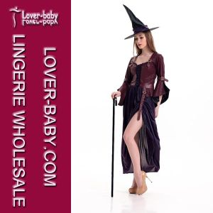Halloween Costume Woman Witch Dress (L15281) pictures & photos