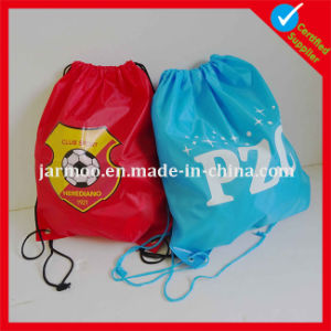 Fashional Popular Printed School Student Drawstring Bag pictures & photos
