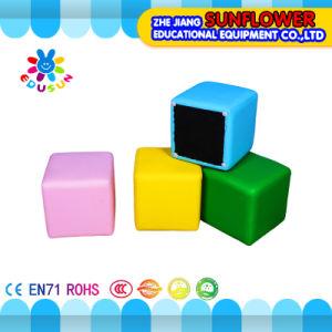 Children Sofa /Children Furniture/Kids Chair/Kids Furniture Square Small Sofa pictures & photos