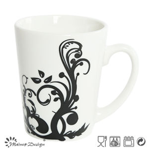 White Porcelain with Full Decal Wholesale Coffee Mug pictures & photos