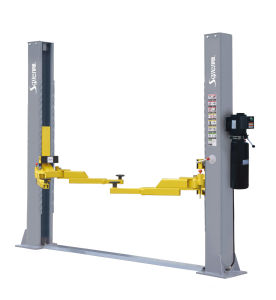 External Locking Two Car Lift with Ce Approved and Patent