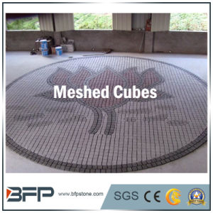 Natural Stone Meshed Cubes for Outdoor Paving/Garden/Driveway pictures & photos