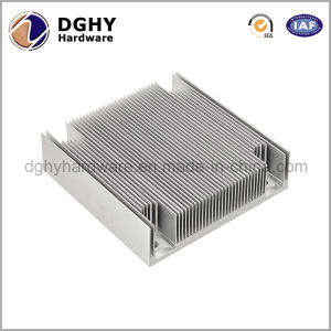China Factory Made Silver Andoized Aluminium Extrusion LED Accessory Heat Sink