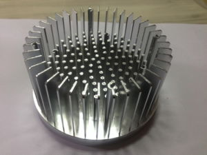Cold Forging Aluminum Round Shape Heat Sinks pictures & photos