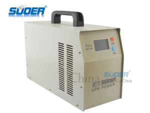 Suoer UPS 1000W Pure Sine Wave Power Inverter with Battery Charger (HPA-1000C) pictures & photos