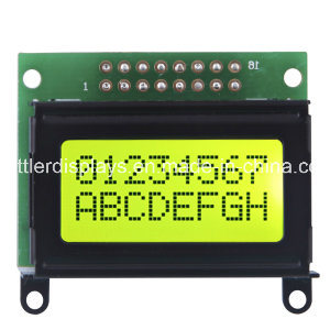 COB Character LCD Module, 8X2 Line: Acm0802A Series pictures & photos