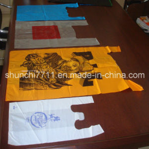 HDPE Plain Plastic T-Shirt Retail Vest Shopping Bag pictures & photos