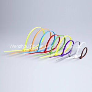 Miniature Nylon Cable Ties 18lbs pictures & photos
