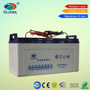 Deep Cycle Solar Gel Solar Battery 12V 100ah Lcpc 100-12 pictures & photos