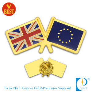 Factory Direct Sell Custom Flag Metal Pin Badge pictures & photos