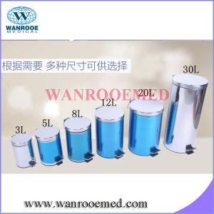 Stainless Steel Waste Bin with Foot Pedal pictures & photos
