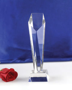 Highend K9 Crystal Award with Laser Custom Logo pictures & photos