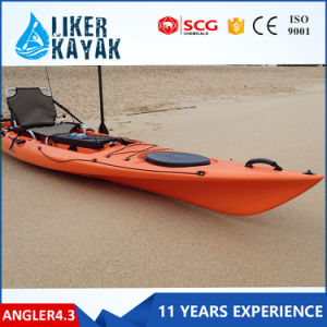 4.3meter LLDPE/HDPE Single Sit on Top Kayak pictures & photos