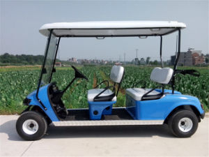 Customized Colour 6 Seats Electric Sightseeing Car for Wholesale pictures & photos