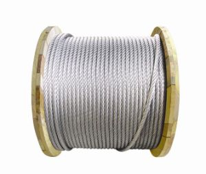 6X19s+FC Galvanized and Ungalvanized Steel Wire Rope pictures & photos