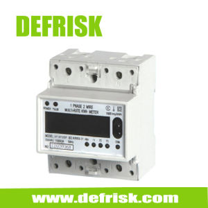 Single Phase Multi-Tariff DIN Rail Energy Meter 4 Modular