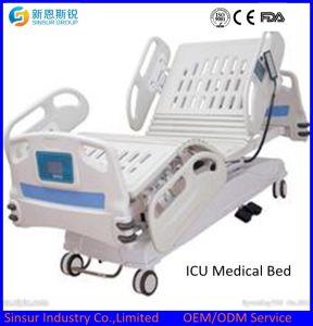 Medical Instrument Hospital ICU Ward Use Multi-Function Nursing Hospital Bed pictures & photos