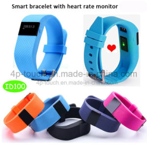 2017 Fashion Waterproof Smart Bluetooth Bracelet for Fitness Tracker ID100 pictures & photos