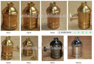 UL E26 Vintage Copper Lamp Holder pictures & photos