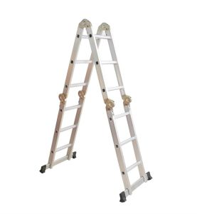 Silver White Multi-Purpose Ladder by Ce/En 131 Certificated pictures & photos
