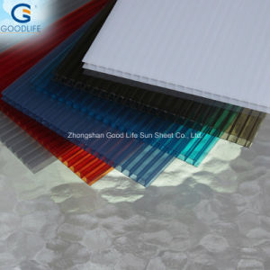 Frosted Orange/Transparent/Opal White/Blue Polycarbonate Panel for Indoor Decoration pictures & photos