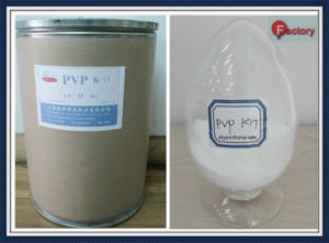 Povidone K17 Powder Manufacture Ep USP for Pharmaceutical pictures & photos