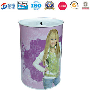 Bucket Shaped Money Box Made by Tin pictures & photos