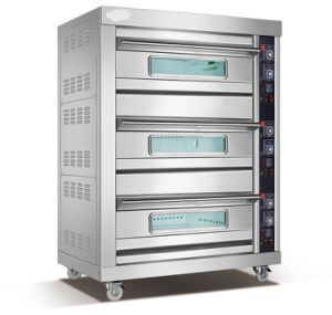 3 Layer 6 Tray Stainless Steel Gas Bread Bakery Oven pictures & photos