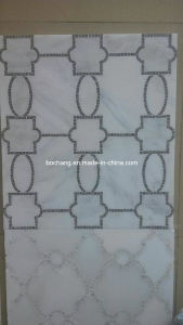 Marble Pattern Border, Water-Jet Marble Medallion for Interior Decoration pictures & photos