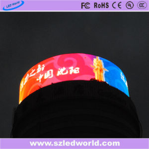 High Brightness LED Arc Fixed Curved Display Screen for Advertising pictures & photos