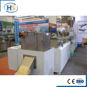 Plastic HDPE LDPE Pelletizer Horizontal Water Ring Extrusion Machine pictures & photos
