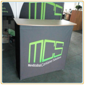 Aluminum Frame Fabric Pop up Counter pictures & photos