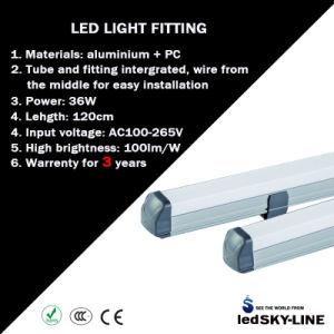 4feet 36W Intergrated T8 Fluorescent LED Tube Light AC85-265V