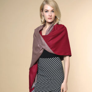 Lady Fashion Acrylic Knitted Winter Warm Shawl (YKY4522) pictures & photos