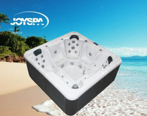 China Factory Wholesale Balboa SPA Acrylic Whirlpool Outdoor SPA Hot Tub with 5 Seats pictures & photos
